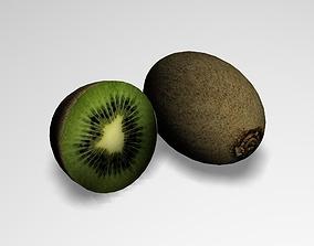 Kiwi Fruit 3D food