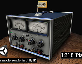 Power Supply 3D model low-poly