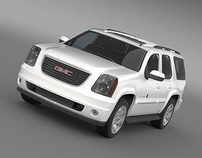 3D model GMC Yukon Heritage Edition 2012