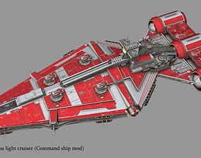 3D model Arquitens-class light cruiser from star