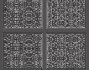 3D Vector decorative panel