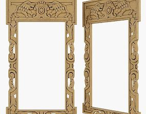 Gothic frame cnc 3D