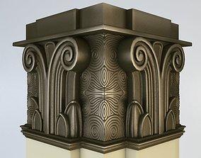 Column 3D classicism