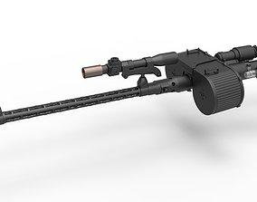 Stormtrooper Blaster RT-97C from the movie Star 3D model