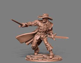 Musketeer - Aramis - 35mm scale 3D printable model