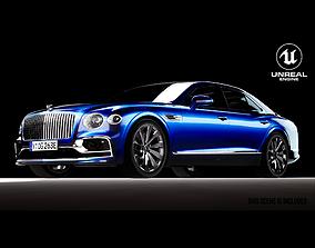 realtime Bentley Flying Spur 2020 3D model