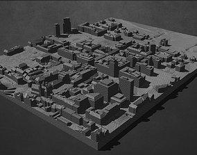 Ljubljana City Center 3D printable model
