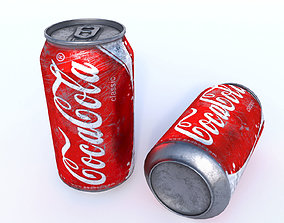 Coca-Cola Old Can 3D
