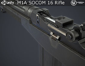 3D model M1A Rifle