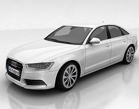 Audi A6 3D model game-ready