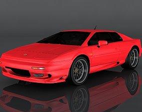 3D asset Lotus Esprit V8