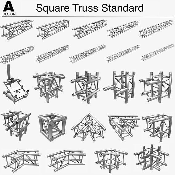 Square Truss Standard 004
