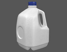 Gallon Plastic Bottle 3D drink
