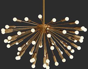 LAMPARA SPUTNIK Icono del diseno 3D model
