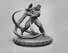 Ryu - Street Fighter Fan Art 3D Printable