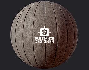 3D model Wood Planks Material