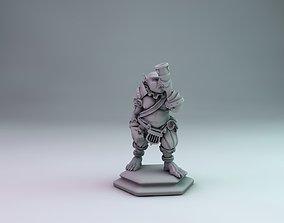 3D printable model Orc bard