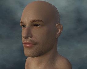 3D model HEAD-001 Male head