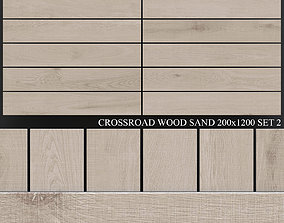 3D model ABK Crossroad Wood Sand 200x1200 Set 2