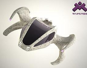 Alien Spaceship - small escape pod 3D