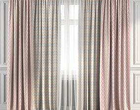 Curtain Set 264 3D model