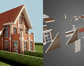 DreamHome Architectural Assets low-poly