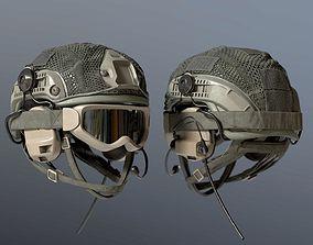 helmet Soldier Bulletproof Helmet 3D model