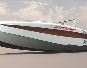 Speed Boat 2 3D model
