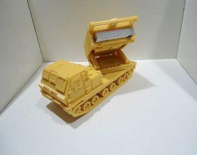 3D print model Missiles Launcher Business Card Holder