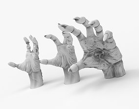 3D print model Zombie Hands Halloween prop