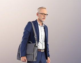 11253 Jason - Business Man Walking in Suit realtime