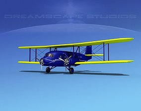 3D model Curtiss Condor American