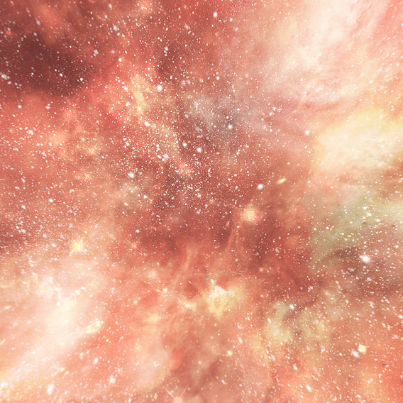HDRI Panoramic Sky - 360 starfield - 10 red glaring night Low-poly 3D model