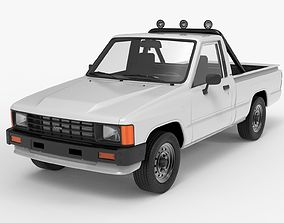 Toyota Hilux 1983-1988 Pickup 1986 3D model