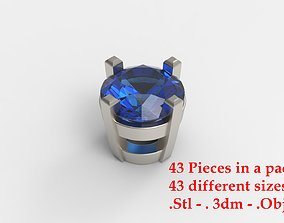 Jewelry Prong Head Set Package 083 3D print model