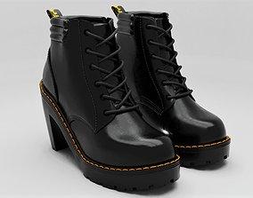3D asset Dr Martens Heel Boot