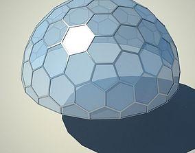 Metallic structure truss 07 Dome 3D
