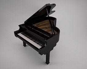 menatl 3D Full Grand Piano