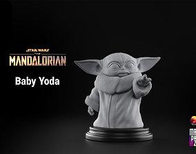 Baby Yoda - Star Wars The 3D print model