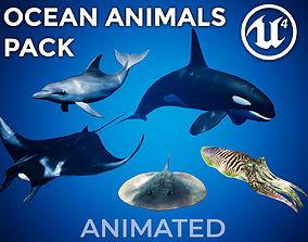 3D asset Ocean Animals Pack UE4 - Vol 1