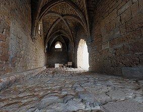 Crusaders Castle Gate in Caesaria 3D model