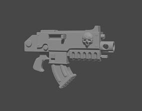 3D print model bolter war