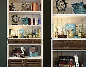 3D Bookcase Folk Wellige