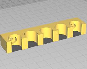3D printable model Hookah Schlauchhalter