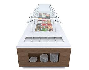 3D model Salad Bar