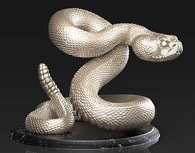 3D printable model serpiente Crotalus Snake
