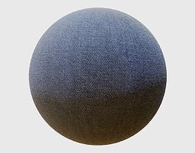 Jeans Fabric PBR Texture 3D