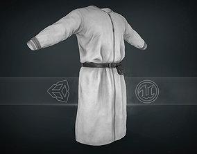 3D asset White Medieval Top
