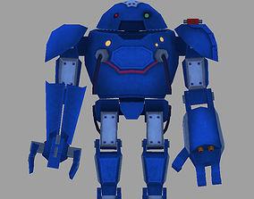 Robot robot 3D asset VR / AR ready