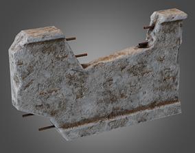 Modular Wall 03 Pbr - Pbr Game Ready 3D asset